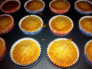 Unfrosted Chai Cupcakes