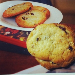 Ed Kimber's Oat and Raisin Cookies
